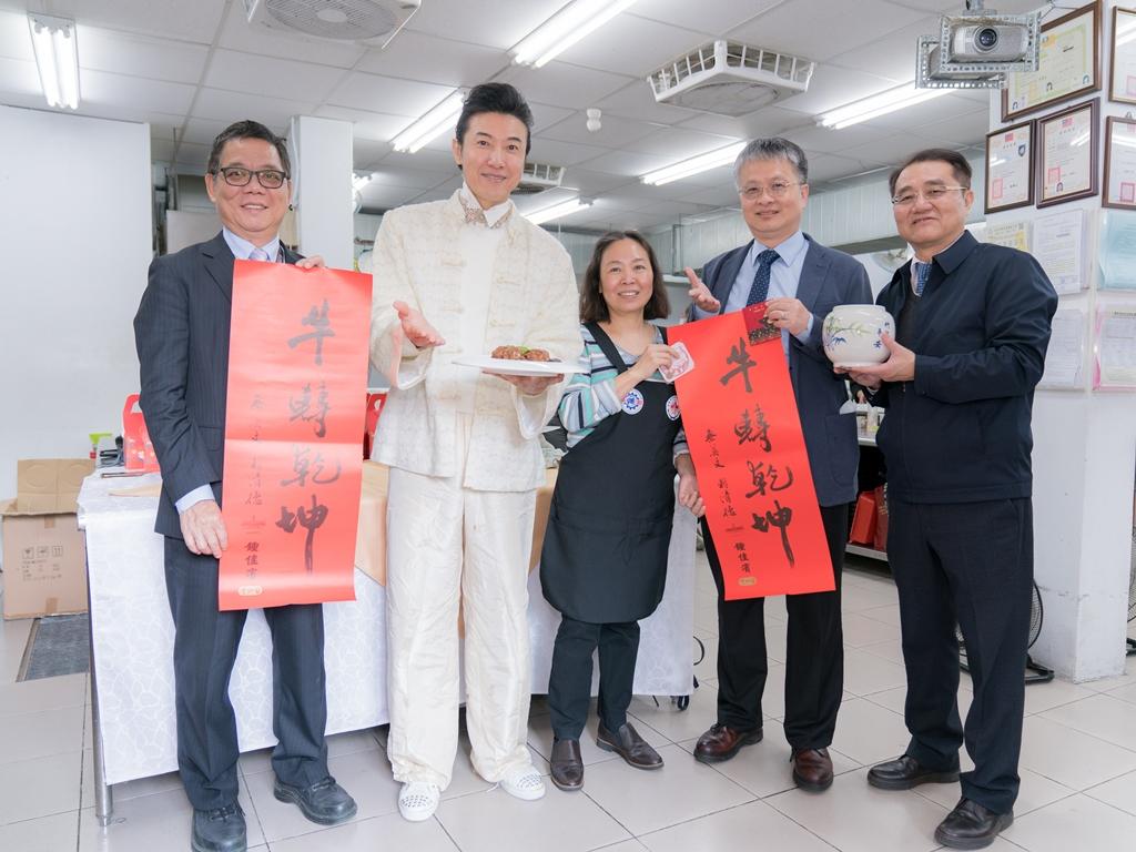 美食交流迎新春 明新科大與越南辦事處舉辦年菜烹飪教學