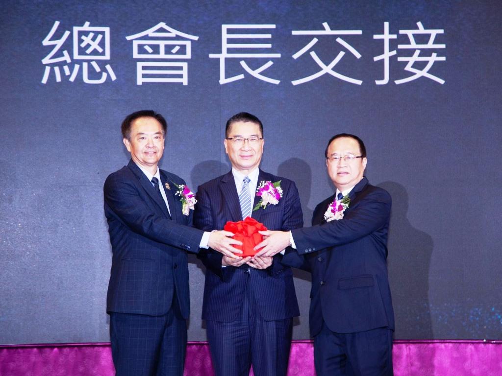 明新科大校友總會聯合交接典禮 劉民珍就任第八屆總會長