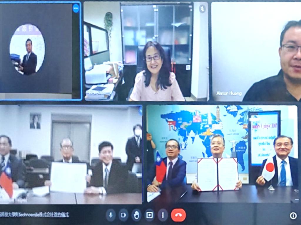 與日本Techno Smile簽署合作 明新學子可赴九州實習研修