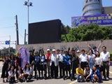 行銷系同學完成滑板車20天環島挑戰