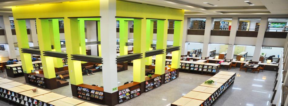 豐沛的圖書資源 明新知識寶庫